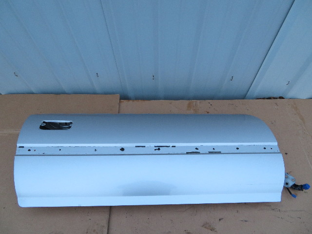 1986 Toyota Supra MK3 #1062 Right Passenger Door Shell Silver Metallic