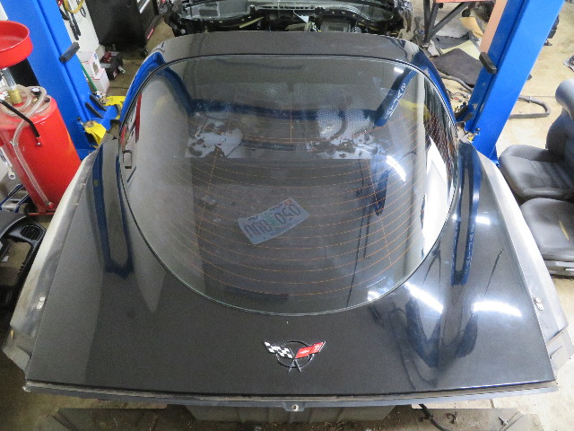 1997-2004 Chevrolet Corvette C5 #1063 Trunk Hatch Assembly W/ Rear Windshield