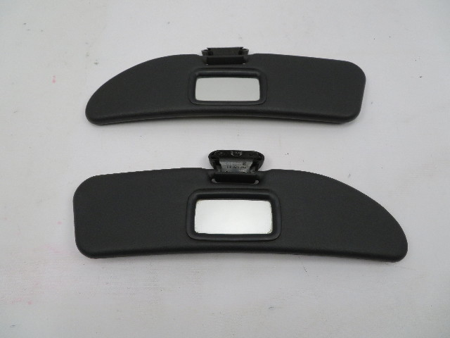 98 BMW Z3 M Roadster E36 #1066 OEM Sunvisors Sun Visors Pair Black
