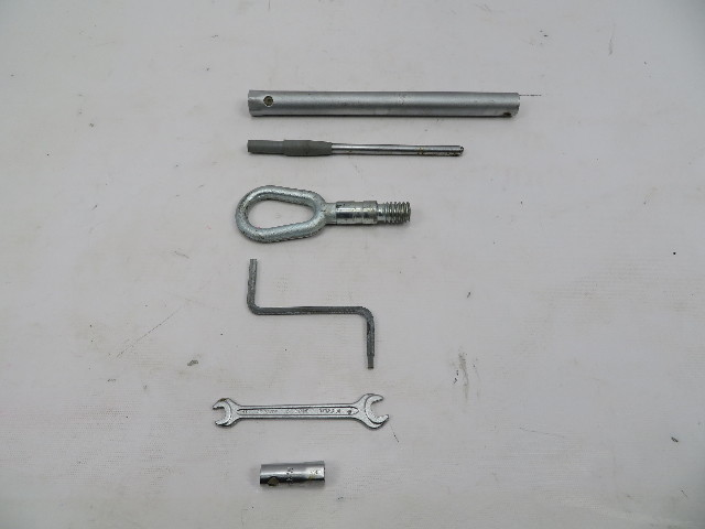 BMW Z3 M Roadster E36 #1069 Tools Kit Tow Lug Wrench Socket Allen