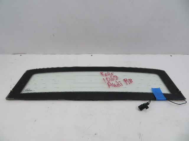 2011 Audi R8 V10 #1068 Rear Window Glass Windshield OEM