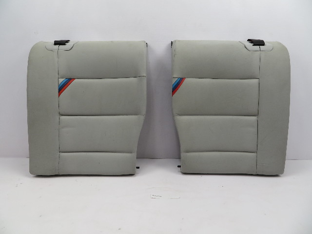 1995 BMW M3 E36 Coupe #1070 Rear Grey Leather Seat Backrest Pair