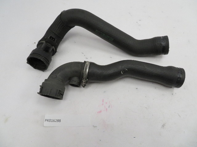 01-06 BMW M3 E46 #1071 Radiator Hoses OEM Upper & Lower With Mount