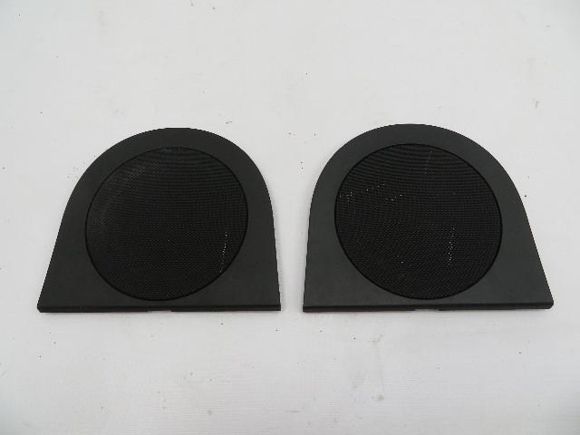 01 BMW Z3 Roadster E36 #1078 Rear Speaker Grill Trim Pair 8413513 8413514