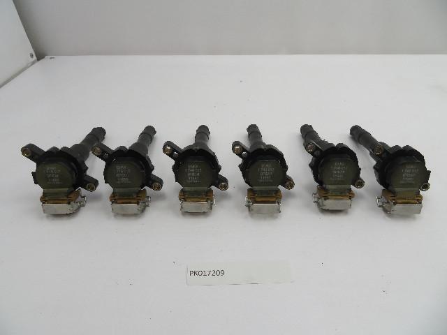 01 BMW Z3 Roadster E36 #1078 2.5L M54 OEM BREMI Ignition Coil Set 6PCS