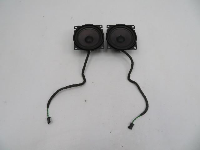 01 BMW Z3 Roadster E36 #1080 Rear Haes Speaker Pair 65108386425