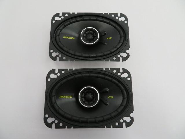 Kicker CS46 Coaxial 4x6 Speaker Pair #1081