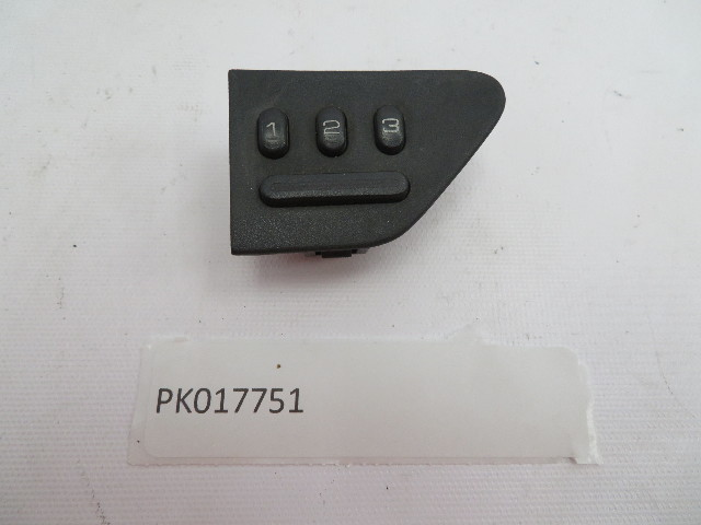 1983-1995 Porsche 928 S4 #1082 Power Seat Memory Switch Left Driver Side