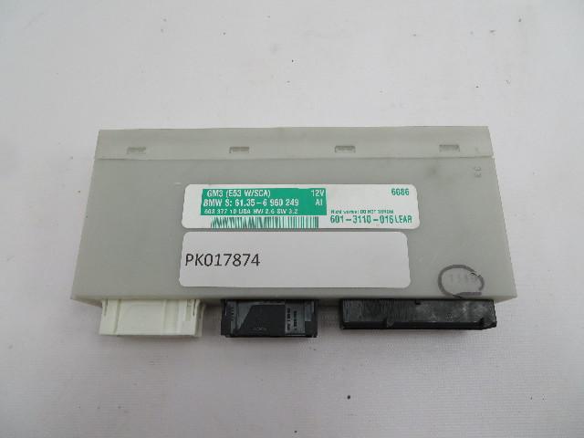 2004-2006 BMW X5 4.4L E53 #1083 BCM Body Control Module Unit