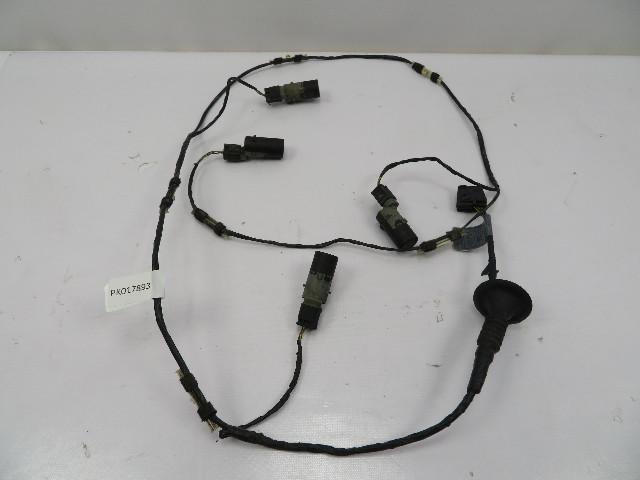 2004-2006 BMW X5 4.4L E53 #1083 Rear Bumper PDC Parking Sensor Set W/ Wiring