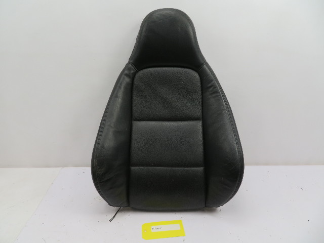 BMW Z3 Roadster E36 #1097 Black Front Power Heated Passenger Backrest Cushion