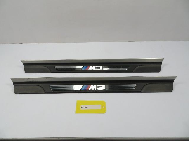 """01-06 BMW M3 E46 #1102 """"M3"""" Script Door Sills Scuff Trim 51478204114 51478204114"""