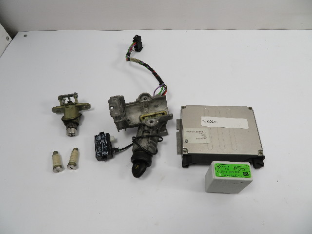 99 Bmw M3 E36 Convertible  1103 Ignition Lock Set W   Ecu