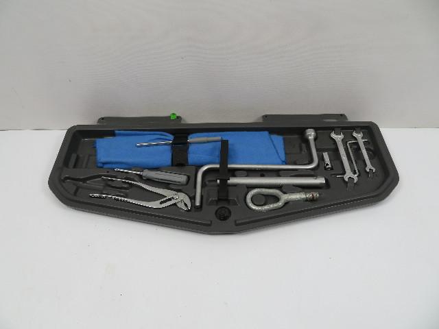 BMW 840ci 850i E31 #1107 Trunk Tool Kit & Shelf 71111180681
