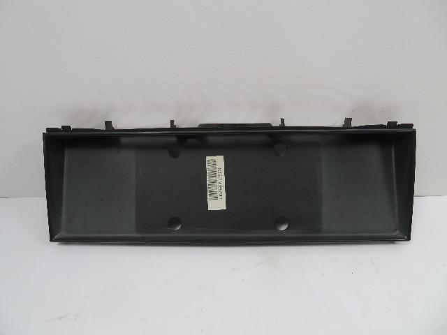 BMW 840ci 850i E31 #1107 Trim, Trunk License Plate Moulding Exterior 51131970559
