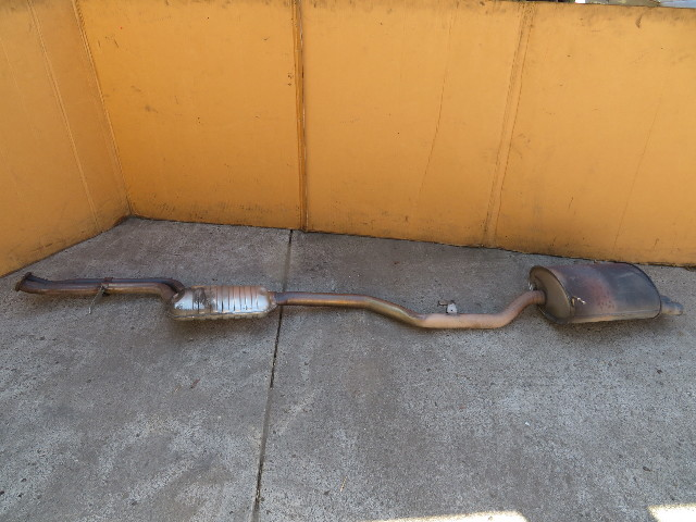 BMW Z3 E36 #1110 Exhaust Muffler Cat-Back 2.5L 2.8L
