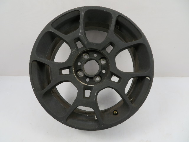 12 Fiat 500 #1116 Wheel, 16 x 6.5 OEM Black 1UF17TRMAA {1}