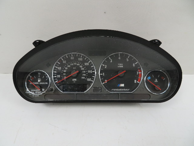 98 BMW Z3 M Roadster E36 #1130 Speedometer Instrument Cluster 62112496304