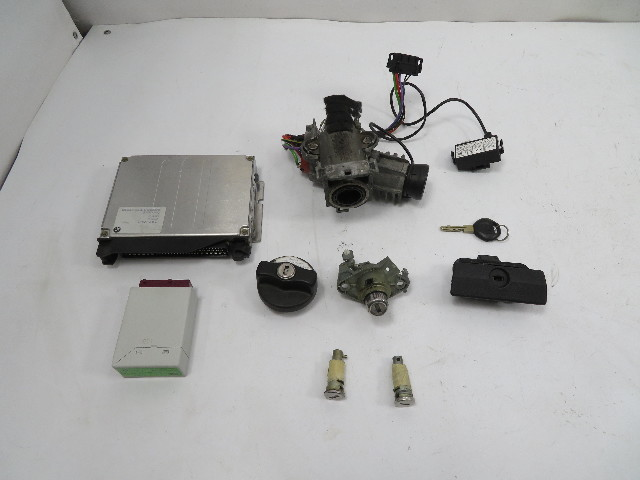 98 BMW Z3 M Roadster E36 #1130 Lock Set, S52 DME ECU Immobilizer Ignition
