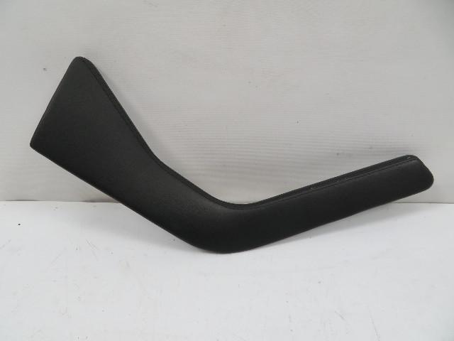 98 BMW Z3 M Roadster E36 #1130 Trim, Center Console Side, Left Black Leather 51168397525