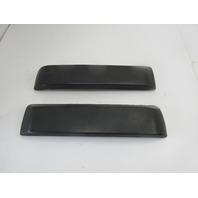 1984 Porsche 944 #1049 Rear Bumper Guards Pads 94450506100 94450506200
