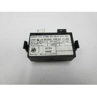 91-97 BMW 840ci 840i E31 #1051 EWS Transmitter Receiver Module 61358362337