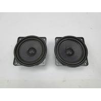 91-97 BMW 840ci 840i E31 #1051 OEM Speaker Pair 65138354274