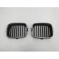 91-97 BMW 840ci 840i E31 #1053 Bumper Kidney Grill Pair OEM