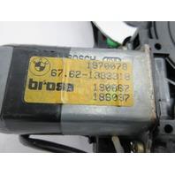91-97 BMW 840ci 840i E31 #1053 Right Rear Window Motor & Regulator 51338123234