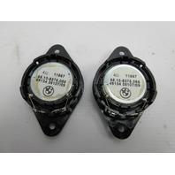 91-97 BMW 840ci 840i E31 #1053 Rear Shelf Speaker Tweeter Pair 65138375085