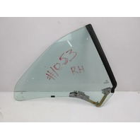 91-97 BMW 840ci 840i E31 #1053 Rear Quarter Window Glass, Right Passenger Side