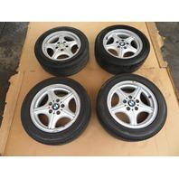 "97 BMW Z3 Roadster E36 #1056 OEM 16"" Wheels & Tires Style 35 Z-Star"