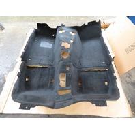 97 BMW Z3 Roadster E36 #1056 Main Interior Black Carpet OEM