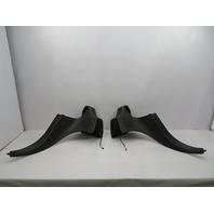 99-02 BMW Z3 M Roadster E36 #1057 Rear Quarter Lateral Roll Bar Trim Pair