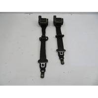 2000 BMW Z3 M Roadster E36 #1057 Right & Left Front Seatbelts Seat Belts Black