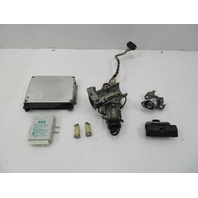 BMW Z3 M Roadster E36 #1057 S52 DME ECU EWS Immobilizer Ignition Lock & Key Set