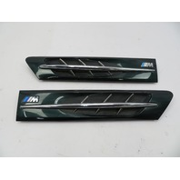 2000 BMW Z3 M Roadster E36 #1057 Hood Grill Gill Set Exterior Pair Green OEM