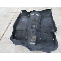 2000 BMW Z3 M Roadster E36 #1057 Main Interior Black Carpet OEM