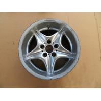 2000 BMW Z3 M Roadster E36 #1057 OEM Road Star Rear 17 x 9 Style 40 Wheel