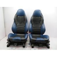 2000 BMW Z3 M Roadster E36 #1058 Black/Blue Power Leather Heated Sport Seats