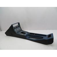 BMW Z3 M Roadster E36 #1058 Leather Center Console Complete Gauges Black/Blue