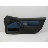 2000 BMW Z3 M Roadster E36 #1058 Black/Blue Nappa Door Panel W/ Airbag Right
