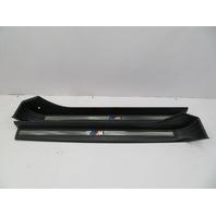 """2000 BMW Z3 M Roadster E36 #1058 OEM Door Sill Set """"M Script"""""""