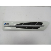 2000 BMW Z3 M Roadster E36 #1058 Hood Grill Gill Exterior White Right