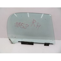 2000 BMW Z3 M Roadster E36 #1058 Right Passenger Side Door Window Glass