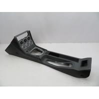BMW Z3 M Roadster E36 #1059 Leather Center Console Complete Gauges Black/Grey