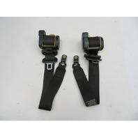 2000 BMW Z3 M Roadster E36 #1059 Right & Left Front Seatbelts Seat Belts Black