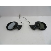 BMW Z3 M Roadster E36 #1059 Aero Side View Power Mirror Pair Right & Left Green