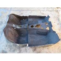 2000 BMW Z3 M Roadster E36 #1059 Main Interior Black Carpet OEM