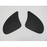 03 Mini Cooper S R50 R52 R53 #1060 Rear Speaker Cover Grill Pair Black